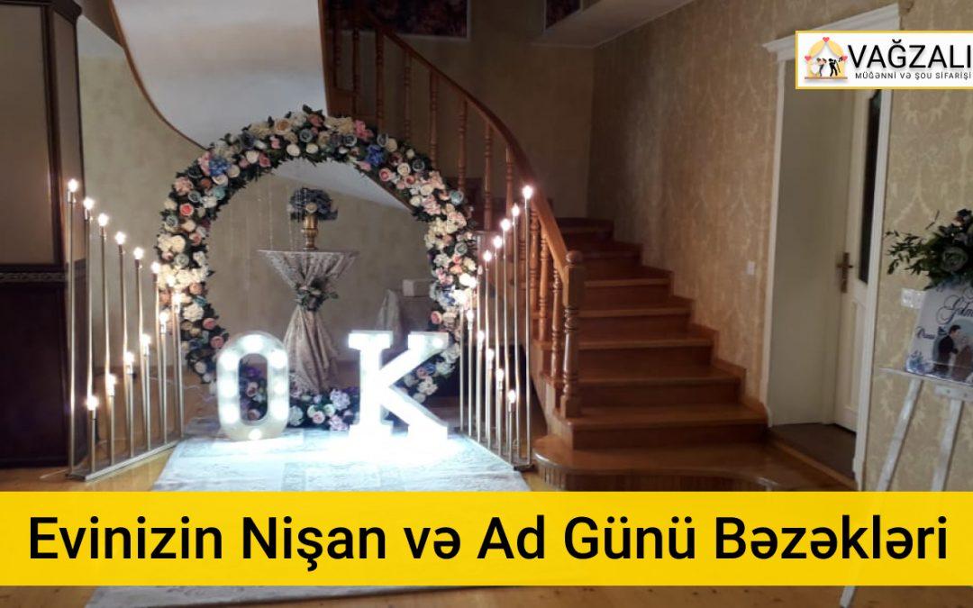 Toy Nişan Ad Günü Bəzədilməsi və Dizayn Aksesuarları Sifarişi